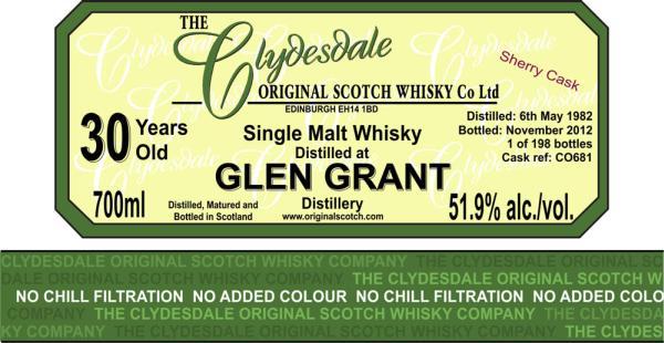 Glen Grant 1982 TCO
