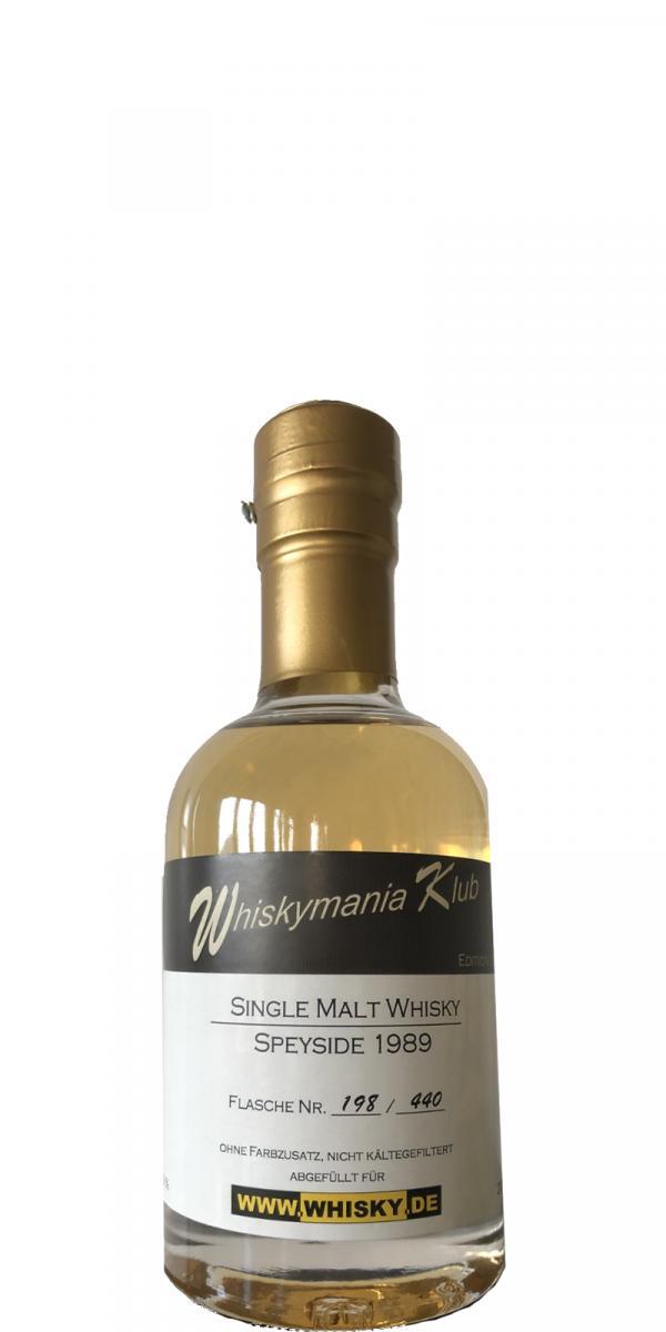 Whiskymania Klub 1989 Wm.de