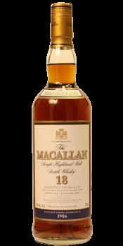 Macallan 1986