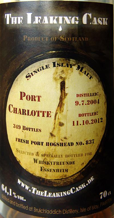 Port Charlotte 2004 TLC