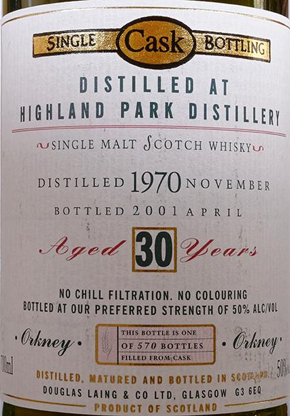 Highland Park 1970 DL