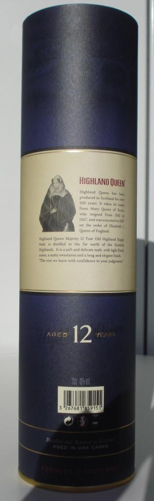 Highland Queen 12-year-old HQSW