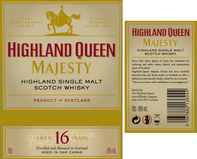 Highland Queen 16-year-old HQSW