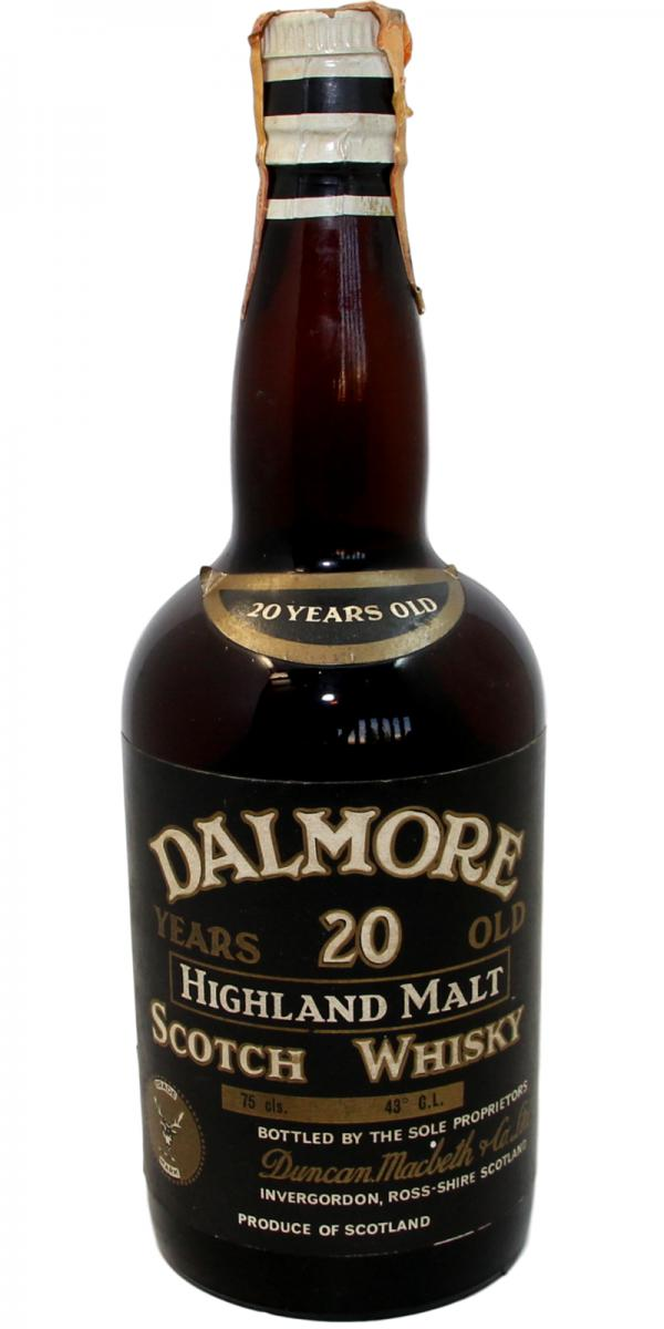 Dalmore 20-year-old DMCo