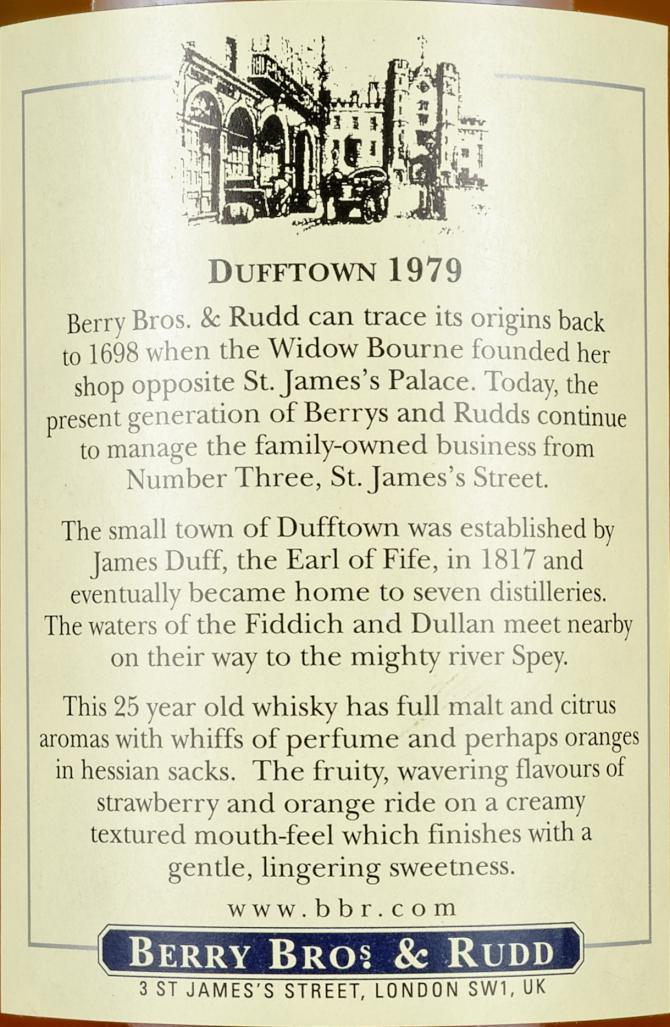 Dufftown 1979 BR