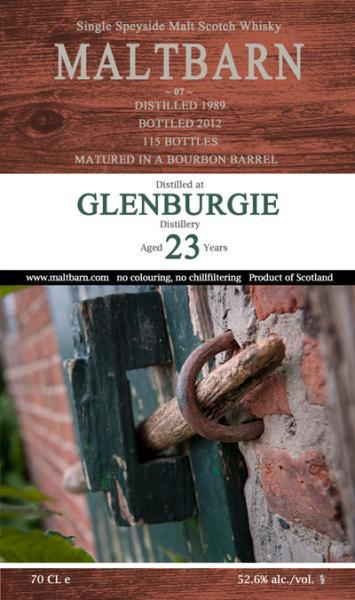 Glenburgie 1989 MBa