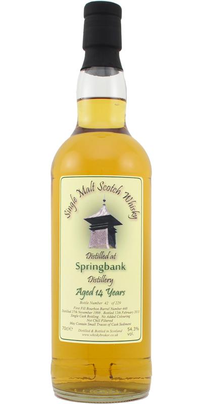 Springbank 1998 WhB