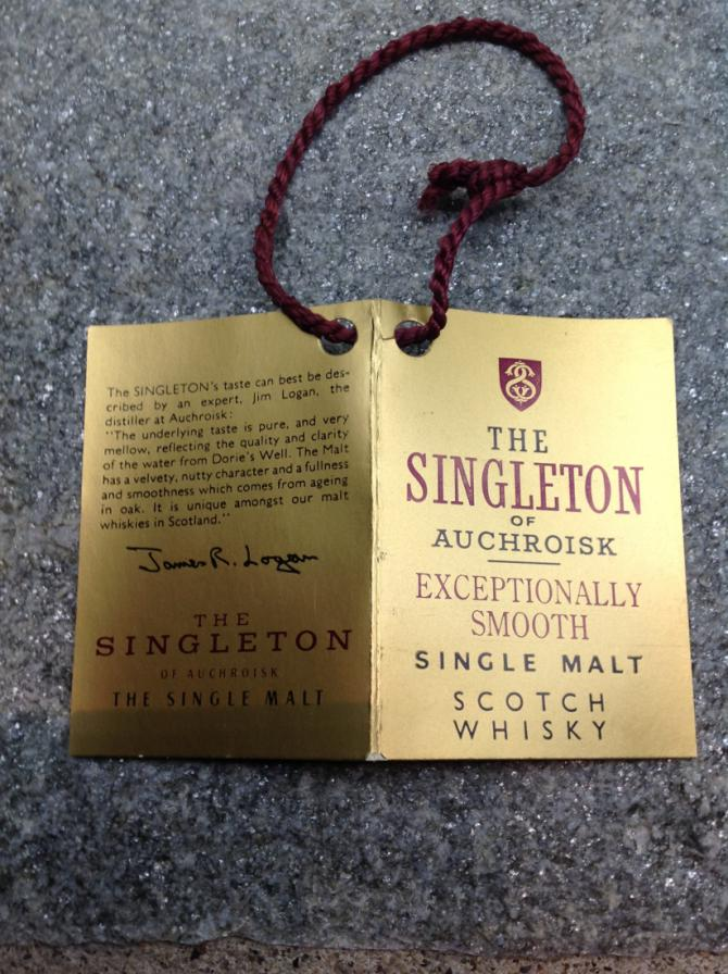 The Singleton of Auchroisk 1981