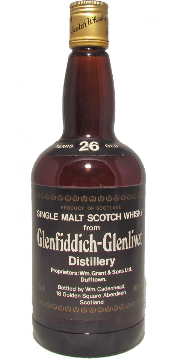 Glenfiddich 26-year-old CA