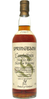 Springbank 1967