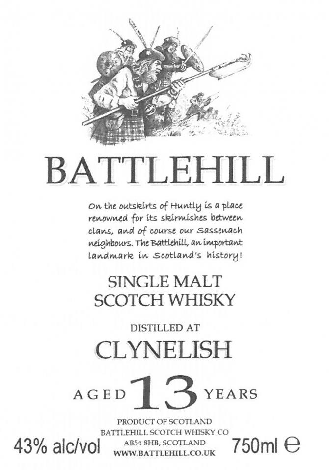 Clynelish 13-year-old BSW