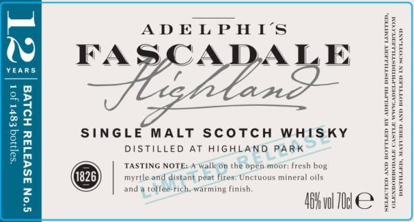 Fascadale Release No. 5 AD