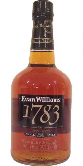 Evan Williams 1783 NAS