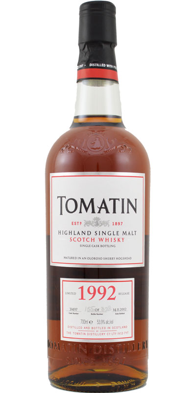 Tomatin 1992