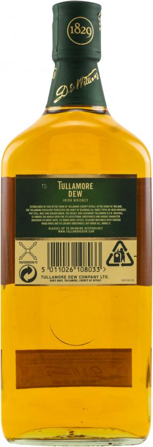 Tullamore Dew The Legendary Irish Whiskey