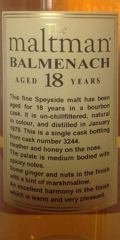 Balmenach 1979 MBl