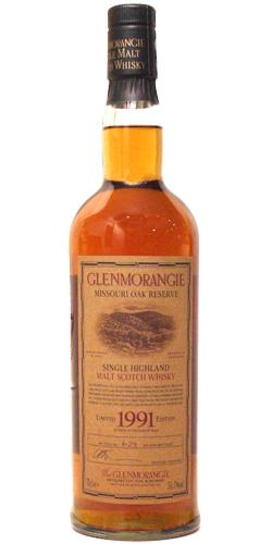 Glenmorangie 1991 - Missouri Oak Reserve