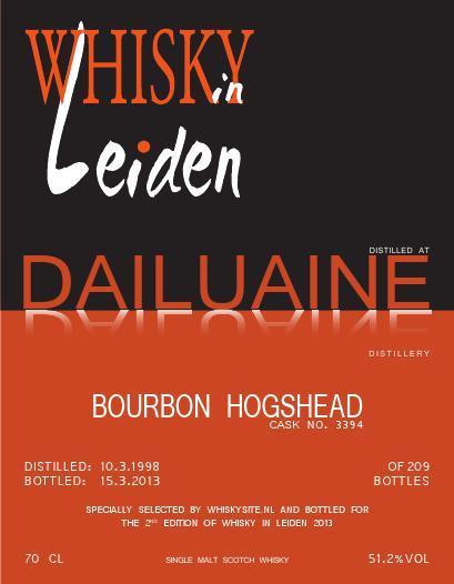 Dailuaine 1998 WS