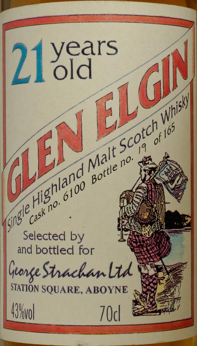 Glen Elgin 21-year-old GSL