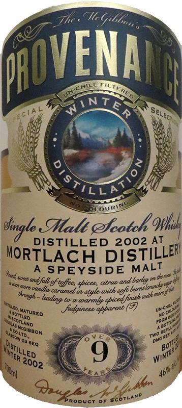 Mortlach 2002 McG