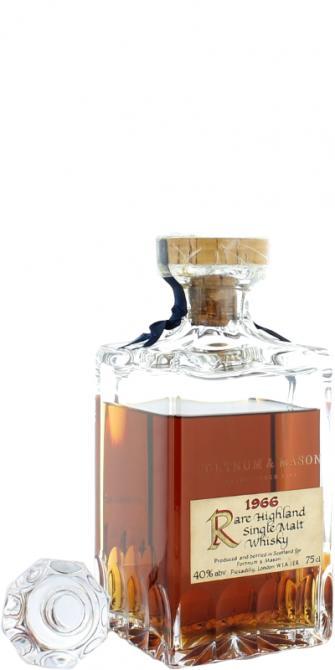 Rare Highland Single Malt Whisky 1966 F&M