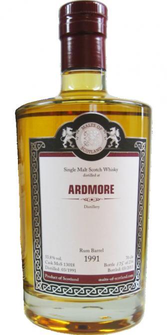 Ardmore 1991 MoS