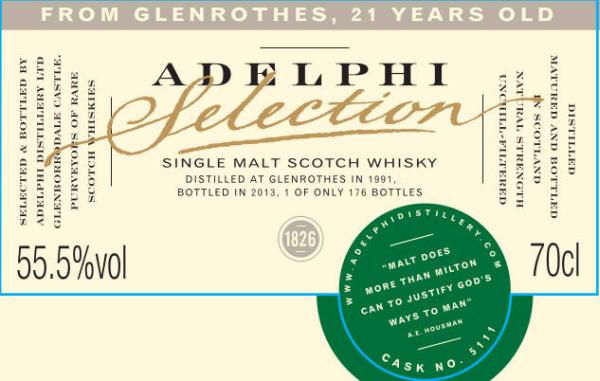 Glenrothes 1991 AD