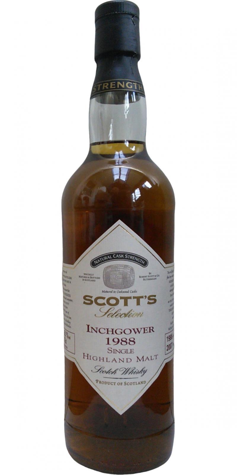 Inchgower 1988 Sc