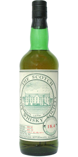 Inchgower 1966 SMWS 18.4