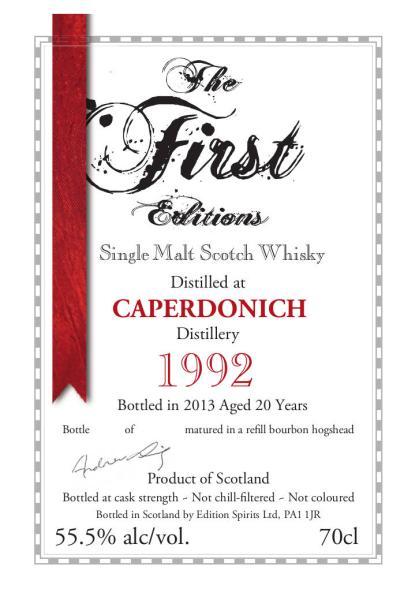 Caperdonich 1992 ED
