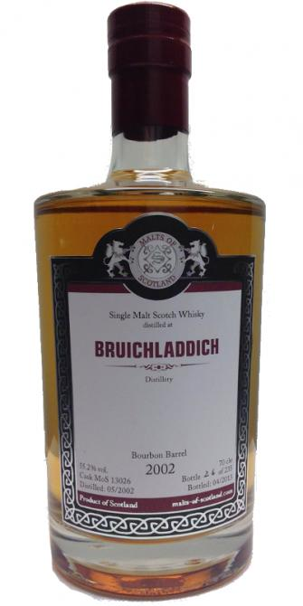 Bruichladdich 2002 MoS