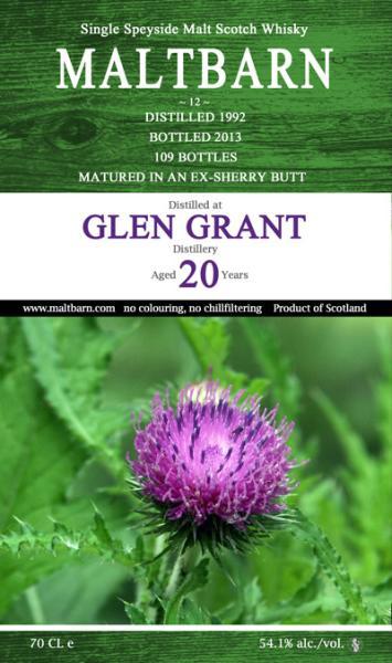 Glen Grant 1992 MBa