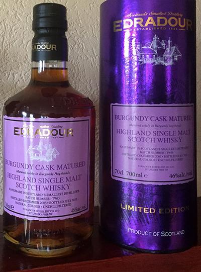 Edradour 2003 Burgundy Cask