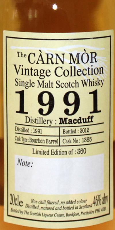 Macduff 1991 CM