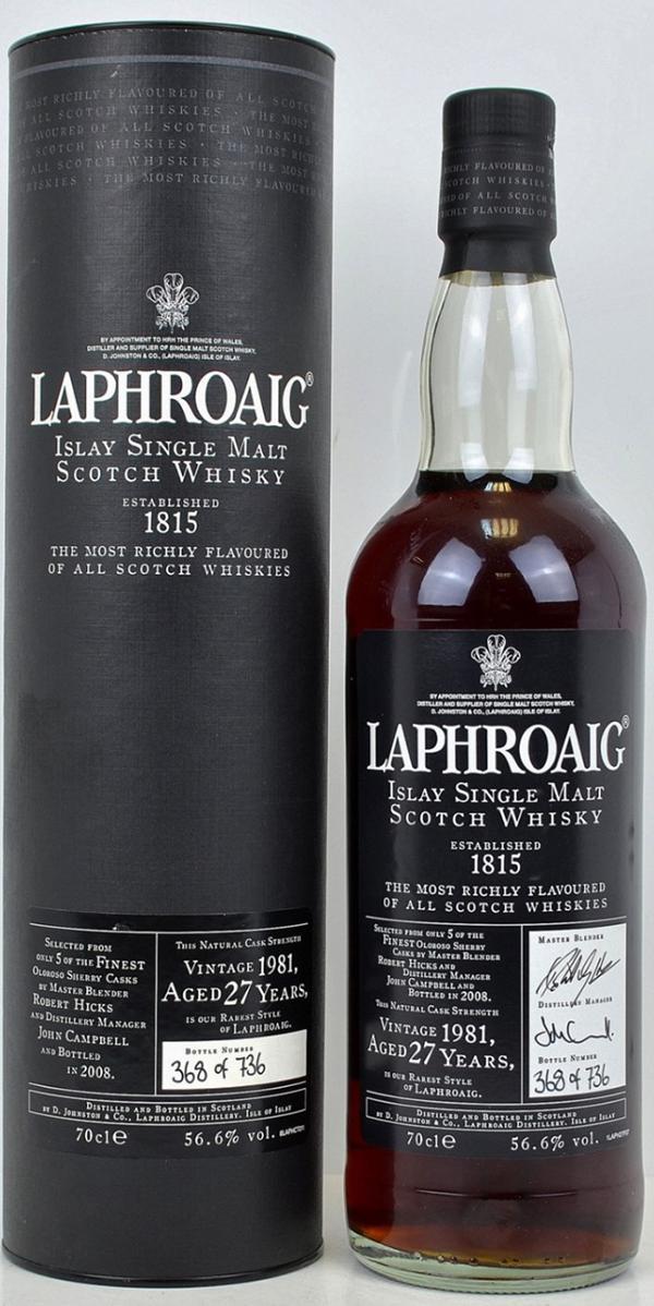 Laphroaig 1981
