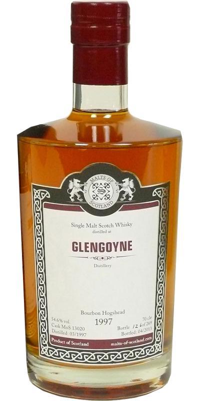 Glengoyne 1997 MoS