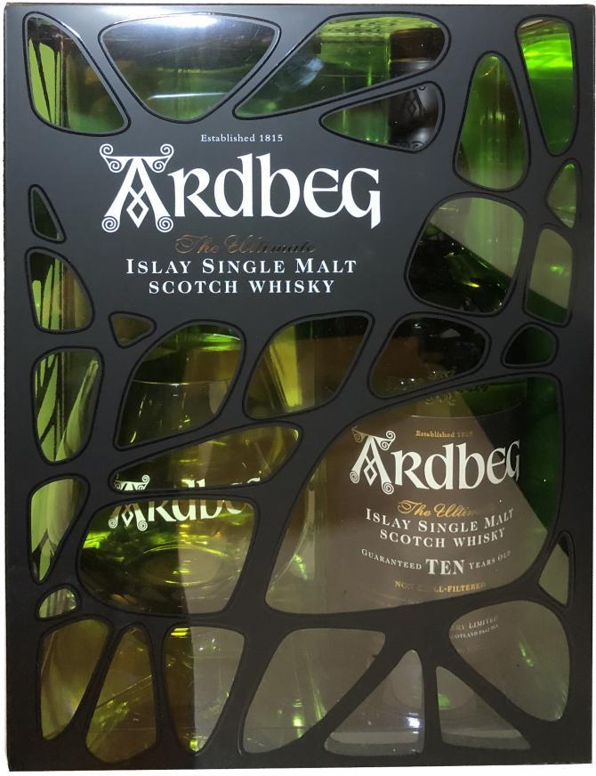 Ardbeg Ten - Gift Pack with Tumbler