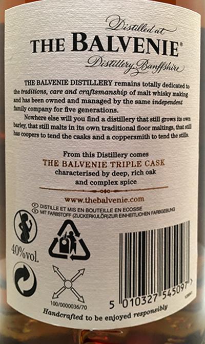 Balvenie 25-year-old