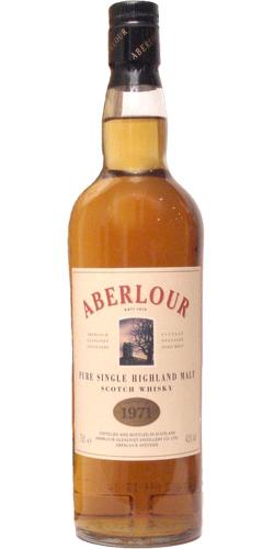 Aberlour 1971