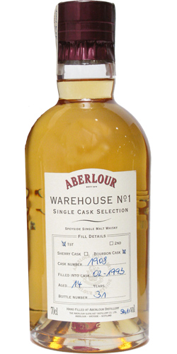 Aberlour 1993 Warehouse No. 1