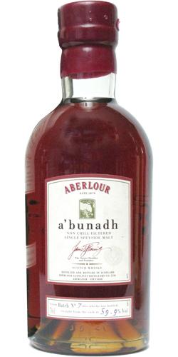 Aberlour A'bunadh batch #07