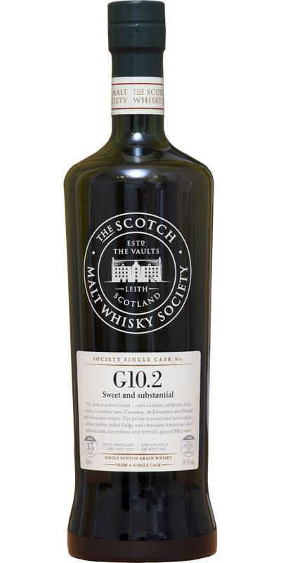 Strathclyde 1977 SMWS G10.2