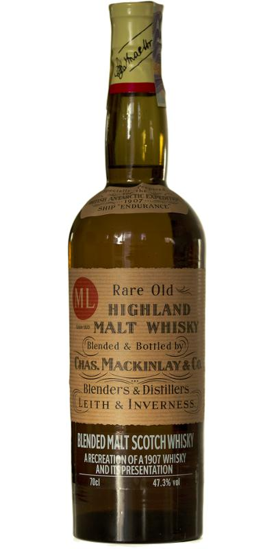 Mackinlay's Shackleton's Journey Rare Old Highland Malt