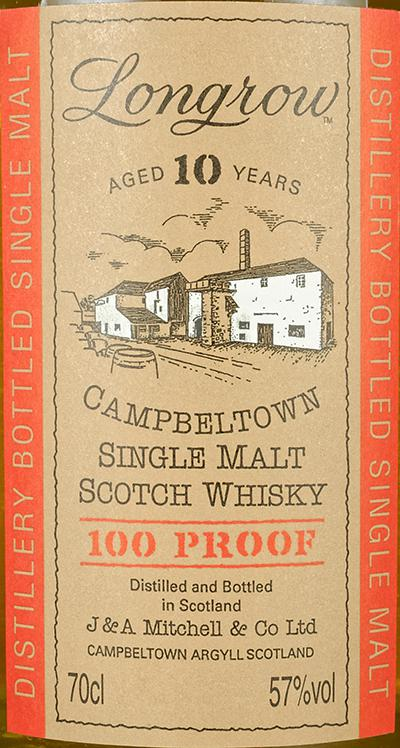 Longrow 100 Proof