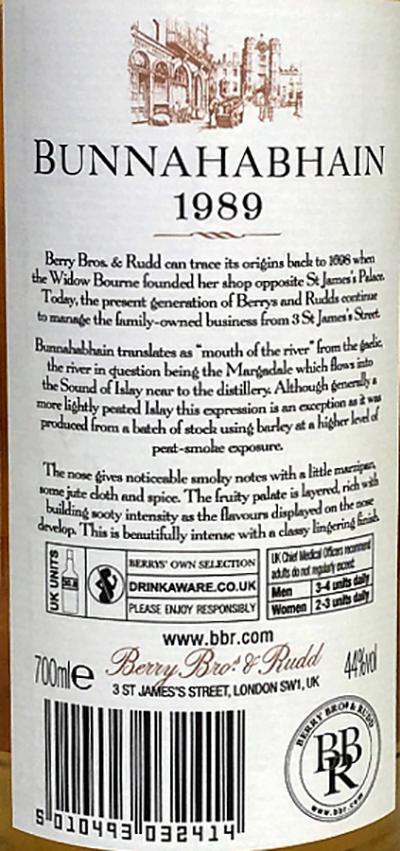 Bunnahabhain 1989 BR
