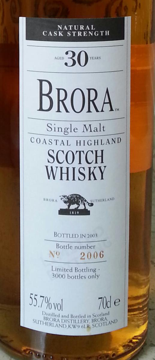 Brora  2nd Release