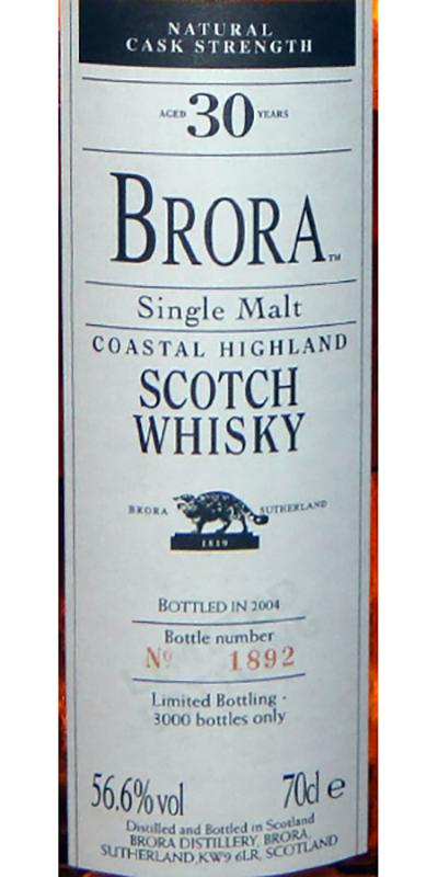 Brora  3rd Release