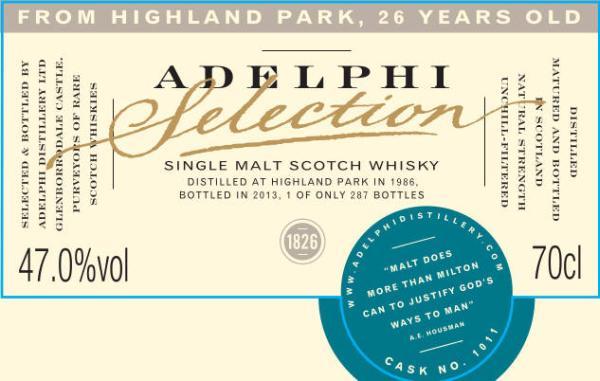 Highland Park 1986 AD