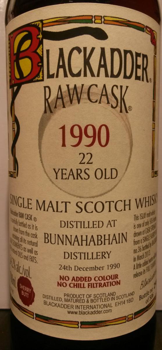 Bunnahabhain 1990 BA