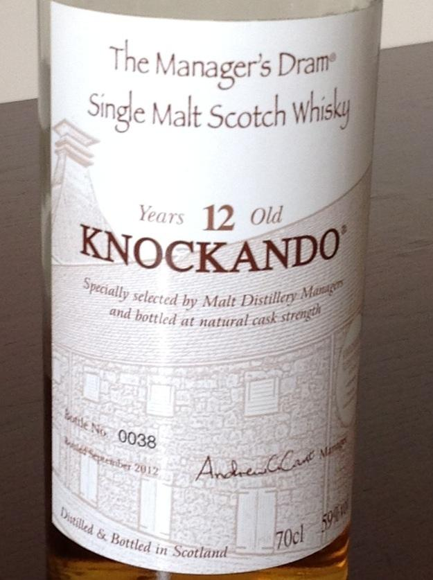 Knockando 12-year-old
